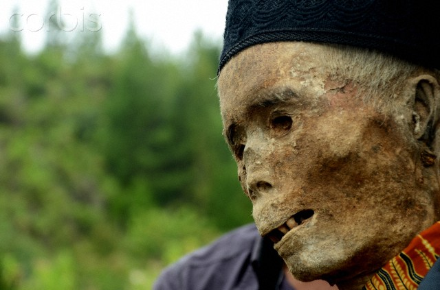Ma'nene Ritual Cleaning of Tanah Toraja Mummy